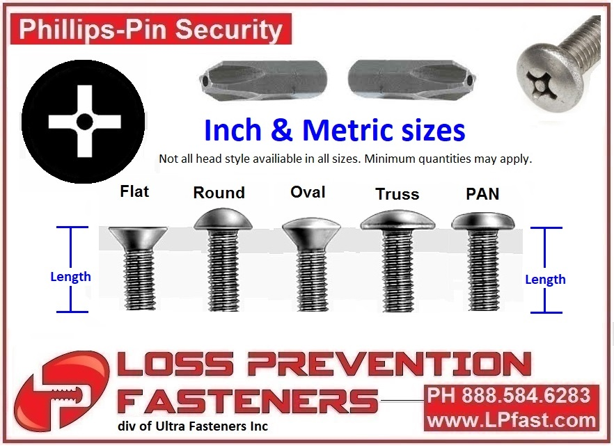 Phillips Pin Security